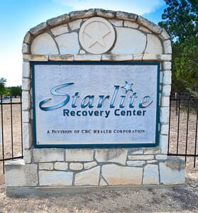 Starlite Recovery Center Center Point Texas